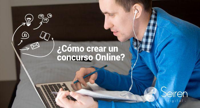 Cómo crear un concurso online