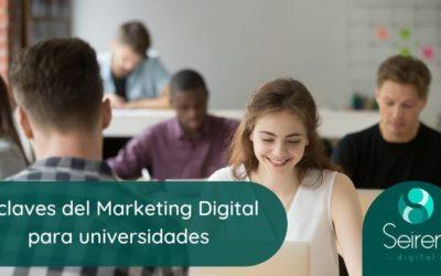 4 claves del Marketing Digital para universidades