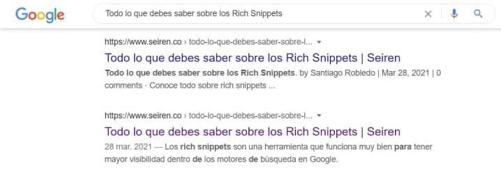 Todo lo que debes saber sobre los Rich Snippets