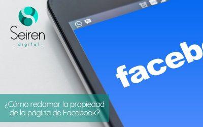 ¿Cómo reclamar la propiedad de la página de Facebook?