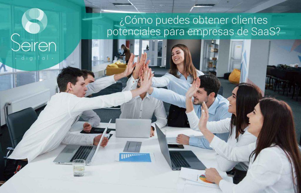 ¿Cómo puedes obtener clientes potenciales para empresas de SaaS?