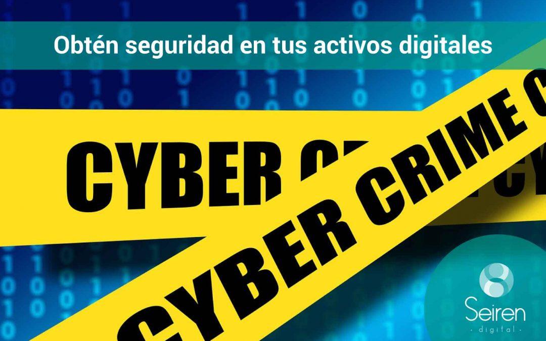 Obtén seguridad en tus activos digitales